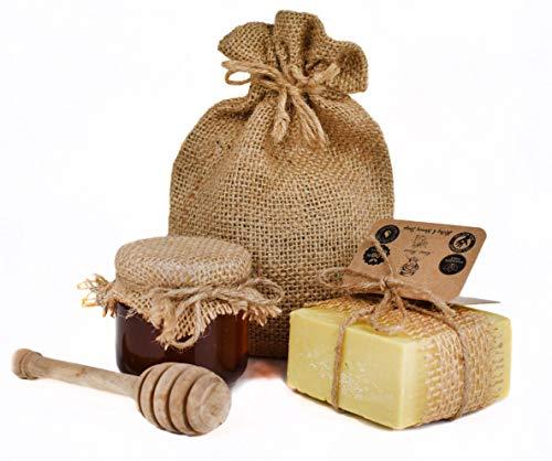 savon au miel naturel -soins pour le visage- cheveux secs- nutritif- vitamin a- acné- taches de visage - soins cernes - peaux grasses