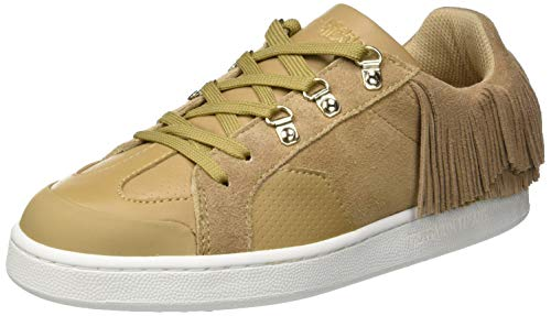 Trussardi Jeans Damen Sneakers with Fringes Gymnastikschuhe, Beige (Beige W050), 39 EU