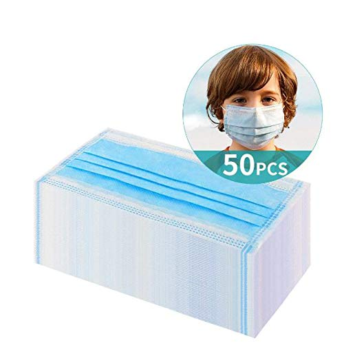 Ichen Gesichtsschutz 50 Stück, staubdicht und atmungsaktiv, tragbar, Outdoor, Garten, Arbeitsschutz