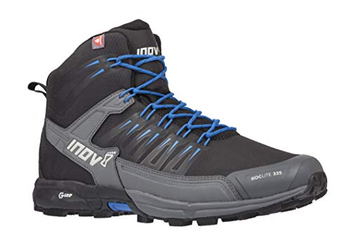 Inov-8 Roclite 335 - Mid Insulated Hiking Boots - Lightweight - Black/Blue M8.5/ W10