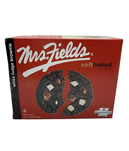 MRS. FIELDS SOFT BAKED COOKIES WHITE FUDGE BROWNIE - 8 oz - 8 Count