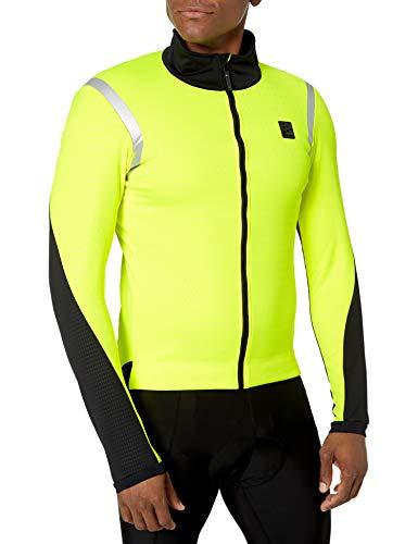 Craft Hale Subz Reflecitve Herren-Fahrradjacke, Winddicht, warm, Herren, Hale Subz Reflecitve Windproof Warm Cycling Bike Jacket, Flumino/P Flexi, X-Large
