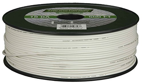 Metra PWWT16500 16 Gauge Primary Wire (White)
