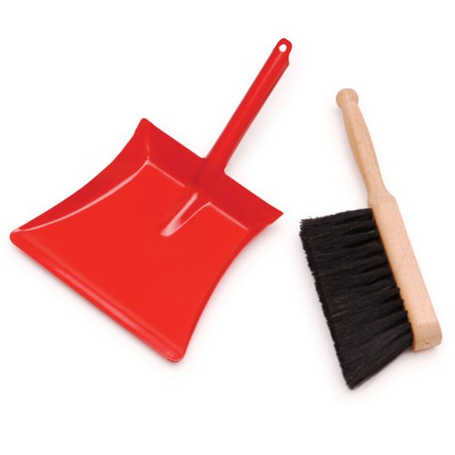 Dustpan and Brush(Colors May Vary)