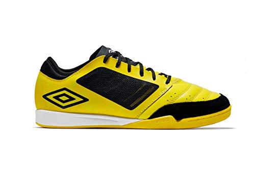 Umbro Chaleira Pro, Zapatillas de fútbol Sala Mujer, Amarillo (Blazing Yellow/Black/White A6c), 39 EU