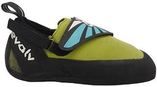 Evolv Venga Climbing Shoe - Kid's Blue/Lime Green 5 [並行輸入品]