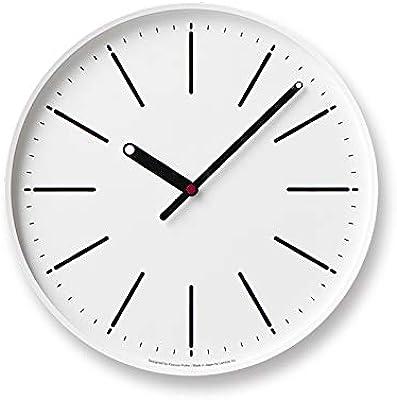 レムノス 掛け時計 ドットクロック アナログ 白 Dot Clock KK15-13 WH Lemnos
