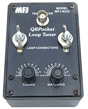 MFJ-9232 HF QRP Mini Loop Antenna Tuner 25W