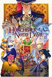 Hunchback Of Notre Dame 27X40 D/S Original Movie Poster One Sheet Mint Disney
