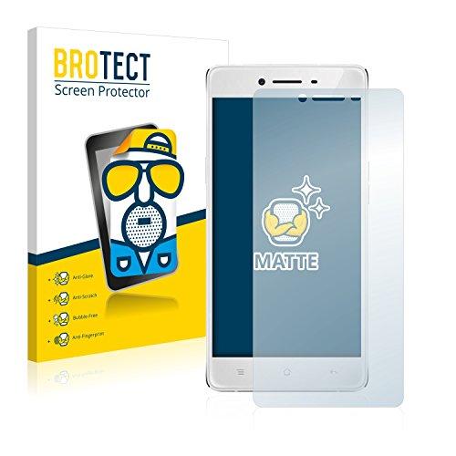 BROTECT 2X Entspiegelungs-Schutzfolie kompatibel mit Oppo R7 Lite Bildschirmschutz-Folie Matt, Anti-Reflex, Anti-Fingerprint