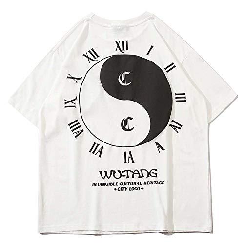 AFASSW Herren T-Shirt mit Tai...