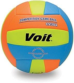 Voit 1VTTPCV304 Voleybol Topu N5, Unisex, Turuncu/Sari/Mavi, N5