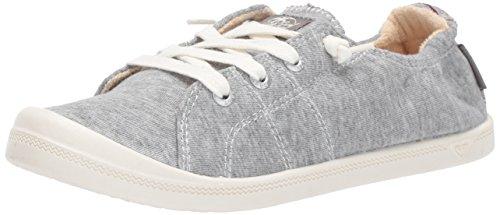 Roxy Damen Bayshore Slip on Sneaker Schuh, Grau (hellgrau), 37.5 EU
