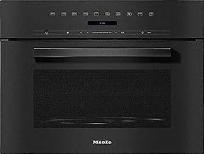 Miele 7244 OBSW - Horno microondas empotrable (60 cm), color negro