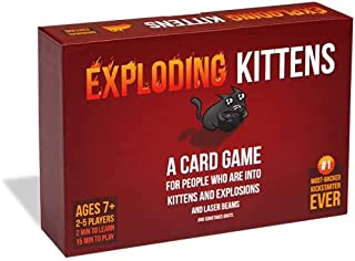 Exploding Kittens Card Game - Family Card Game - Card Games for Adults, Teens & Kids