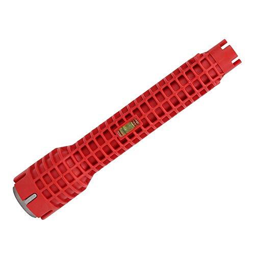Kraan spoelmoersleutel - Multi-Functie Kraanmoersleutel Universele Enkele Hoofd Kraan wastafel moersleutel Installer Tool