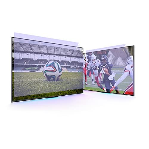 Monitor De 55 Pulgadas Pantalla Anti Deslumbramiento, Anti-Deslumbramiento, Anti-Rasguño, Bloques 96% UV Protección De Luz Azul para TCL/Samsung/Toshiba/Sony/LG,55' 1211 * 682