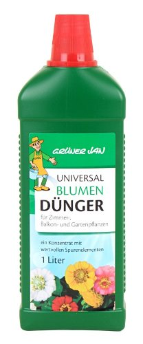 Grüner Jan Dünger 1L mit Spurenelementen