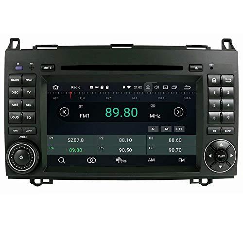 Autoradio stéréo ROADYAKO Double Din pour Ben W169 / W245 / Viano/Viano 2005 2006 2007 2008 2009 2010 2010Android 8.1 avec Navigation GPS Lien de Miroir 3G WiFi RDS FM AM Bluetooth