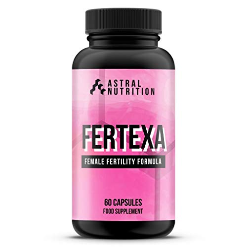 Fertexa Female Fertility Pills - 1 Month Supply | Increases Likelihood of Pregnancy | Boosts Ovulation | Proven Natural Formula