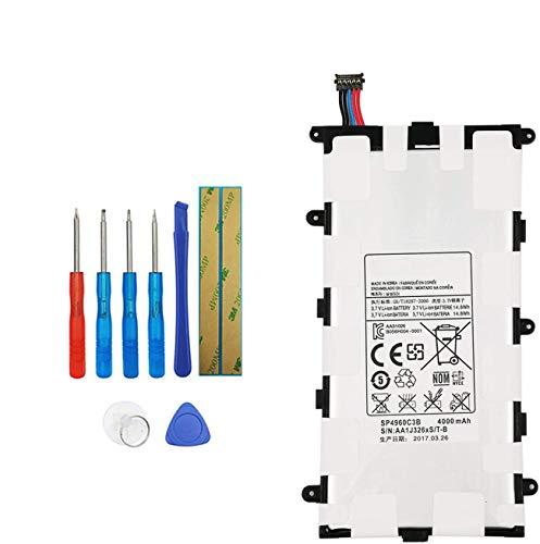 Upplus SP4960C3B - Batteria di Ricambio per Samsung Galaxy Tab 2 7.0 P3100 P3110 P3113, 3,7 V, 4000 mAh