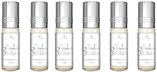 Al Rehab Sultan 6 X 6ml Oil Perfume Fragrance Roll on Alcohol Halal