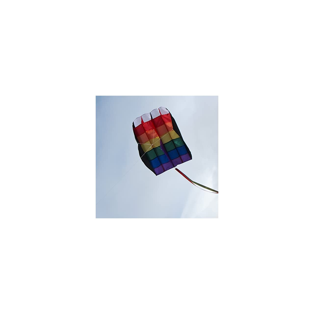 In the Breeze Rainbow Stripes 5.0 Parafoil Kite