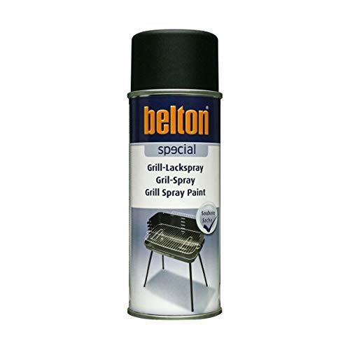 Unbekannt Kwasny Belton Special Grill-Lackspray Speziallack Lack Lackspray Spraylack bis 650°C schwarz matt 400 ml