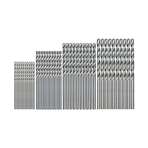 liuchenmaoyi Brosse en Acier 40 Mini perceuse PCS HSS Bit 0.5mm-2.0mm Tige Droite Cavalier Twist Percez Bits Ensemble Drop Shipping Outils de récupération.