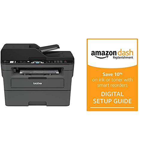Cheapest Price! Brother Monochrome Laser Printer, Compact All-in One Printer, Multifunction Printer,...
