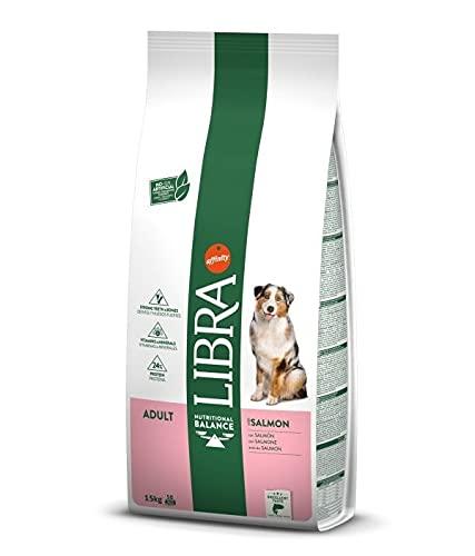 LIBRA - Pienso para Perros Adultos pequeños, medianos y Grandes salmón ⭐