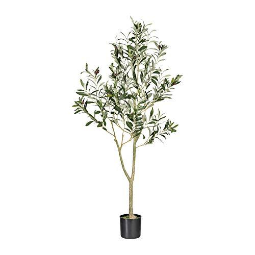 wohnfuehlidee Kunstpflanze Olivenbaum grün, im Topf, Höhe ca. 120 cm