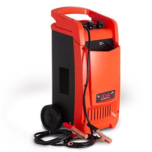 Röhr DFC-450P - Cargador batería Coche/camión - Turbo/Lento - Reparación, Mantenimiento, Inicio rápido - 70 A - 12/24 V