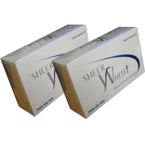 Sheer White Teeth Whitening Strips (Double Pack) (Double Pack)