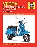 Vespa P/Px125, 150 & 200 Scooters (78 - 14): (incl. LML Star 2T) (Haynes Service & Repair Manual)
