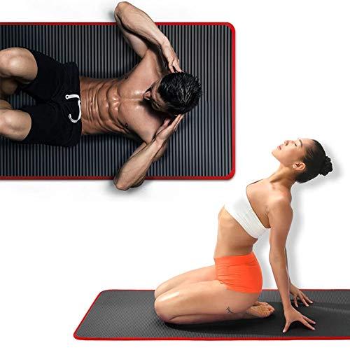 HANYF Tapete De Fitness Antideslizante Plegable Grueso, Tapete De Yoga, Adecuado para Todo Tipo De Yoga, Gimnasio De Gimnasia, Tapete Elástico