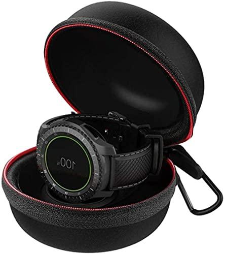 MISINIO Equipaje para Samsung Galaxy Watch 46mm 42mm Gear S3 Titular de Cargador portátil Portátil Caso de Muelle Viajes de Bolso Protector Duro Bolsa de Bolsa Caja de Cremallera Incomparable