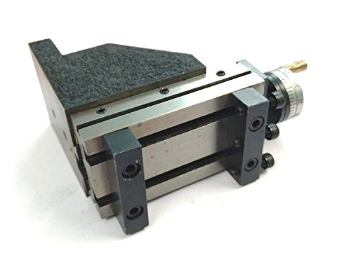 ToolPost Mini-Vertikalschlitten (90 x 50 mm) zum sofortigen Fräsen auf Drehmaschinen