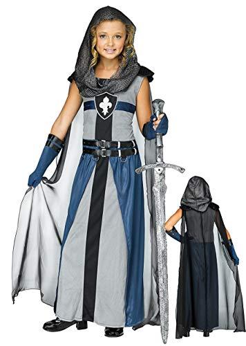 Ciao Dama Guerriera Medievale Costume Bambina
