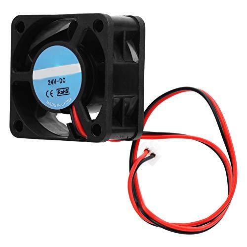 4Pcs Cooling Fan, DC 24V 3D printer cooling fan, Mini Quiet Cooling Fan, 2.4W Cooling Fan Heat Dissipation with Oil Shaft