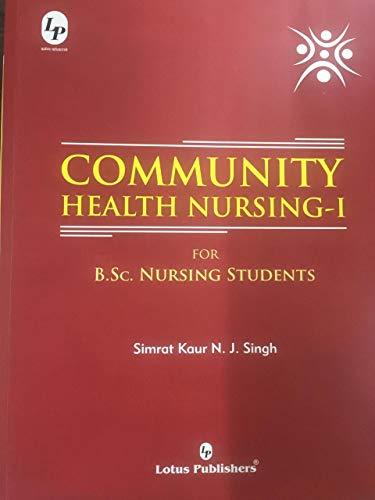 Community Health Nursing -1 for B.Sc Nursing Students