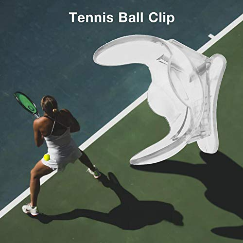 kingpo Tennisball Tennisball Clip/Ballhalter Ballhalter Farbe Transparent Tenniszubehör