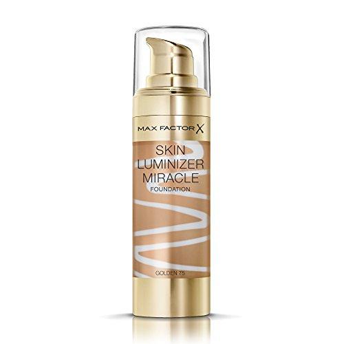Max Factor Fondotinta Skin Luminizer, 75 Golden - 30 gr