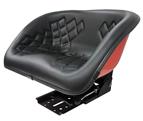 KlaraSeats Schalensitz mit Federung Metall Rot, Polster SW