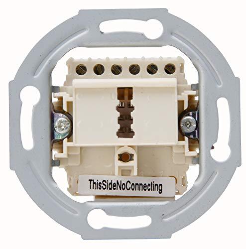 Kopp 33369390 Telefonanschlussdose TAE, F-Codierung