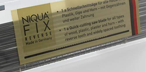 Laubsägeblätter NIQUA FIX REVERSE Holzlaubsägeblätter Nr: 3 Abmessung 0,34 mm x 0,90 mm Dutzend