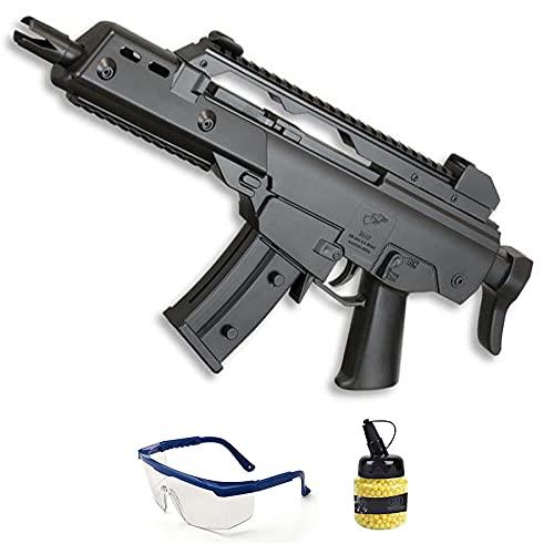 Fusil de Airsoft DE M48F | Rifle de Bolas de PVC (bolines de plástico) Calibre 6mm de Muelle. Arma de Airsoft Tipo G36