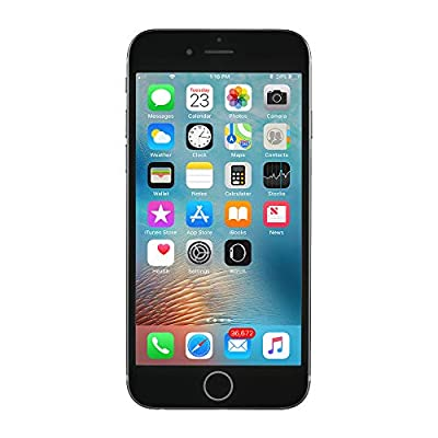 Apple iPhone 6S, 64GB, Space Gray - Fully Unlocked (Renewed)