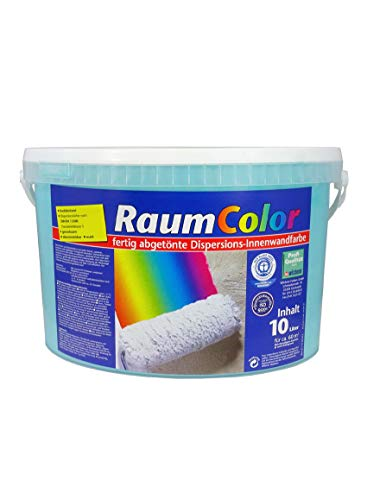 Raumcolor getönt Türkis 10 Liter ca. 60 m² Innenfarbe Wandfarbe Wilckens Farbe Trendfarbe hochdeckend