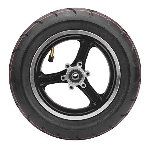 Mxzzand Neumático de Scooter eléctrico Neumático Inflable Neumático de Caucho Natural para Accesorio de Ciclismo de Scooter eléctrico de 10 Pulgadas